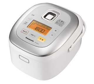 Panasonic IHジャー炊飯器 ホワイト 1.0L 5.5合炊き SR-HB103-W